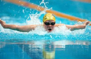 Most popular sports in the USA. Swimming
